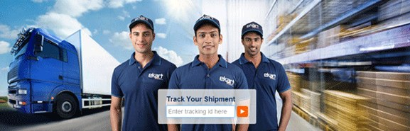 One click to check eKart Logistics Tracking